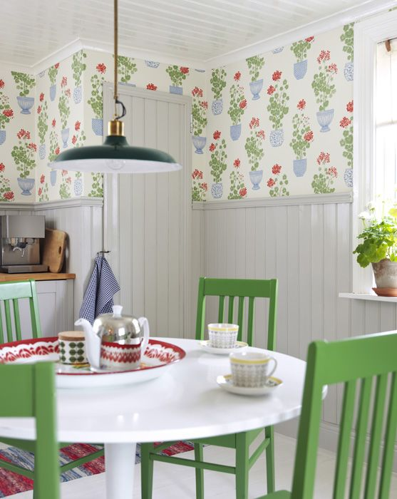 Wallpaper - Elin Cream from Sandberg