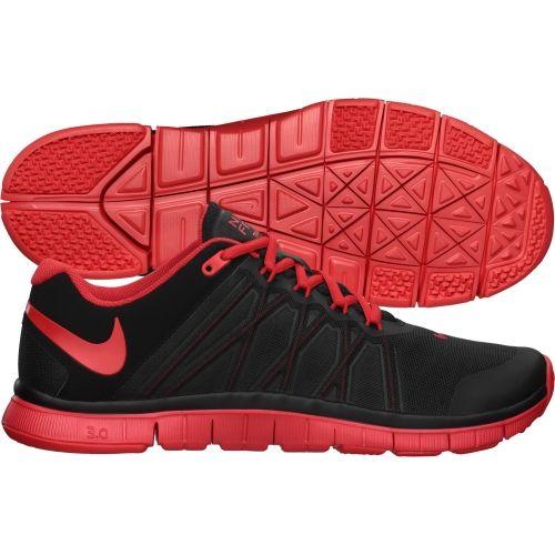Nike Entraîneur Des Hommes Libres 3.0 - Rouge / Noir Flanelle professionnel vente magasin discount achats en ligne kkFWVRqw