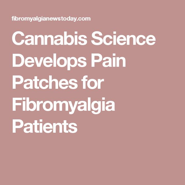 Pain relief patches for fibromyalgia
