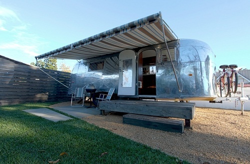 3 Projects We're Looking Forward to in 2013; Santa Barbara Auto Camp marries classic Americana style and modern design to create an exceptional urban Airstream lodging experience.