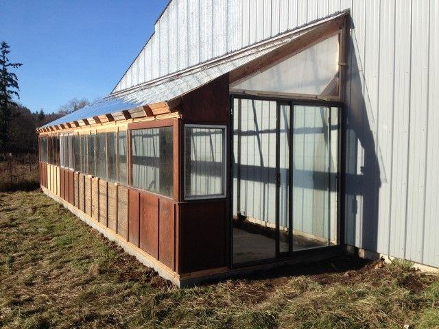 Propagation Greenhouse Construction – Island Harvest Farm