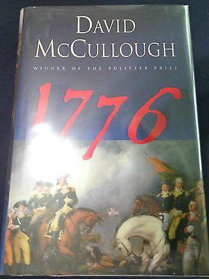 Pulitzer Prize David McCullough signed 1776 book.