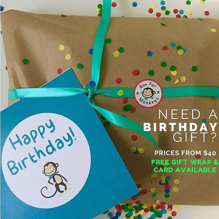 Need a birthday gift? We have you covered! You can shop our Instagram page through our bio.  #preschoolerlife #toddler #toddlerlife #toddleractivity #kidscrafts #kidsactivities #montessori #parenting #sahm #wahm #earlychildhood #childhoodunplugged #australia #playideas #boxformonkeys #instahappy #education #familyfirst #qualitytime #kidsgiftideas #subscriptionbox #mum #finemotor #imaginativeplay #cookingwithkids #instashop #birthdaygift
