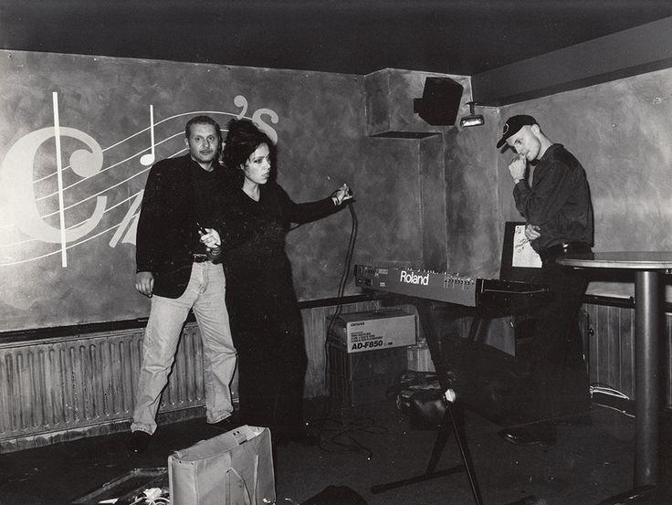 Skrol - soundcheck in Leeds (U.K.), 1997