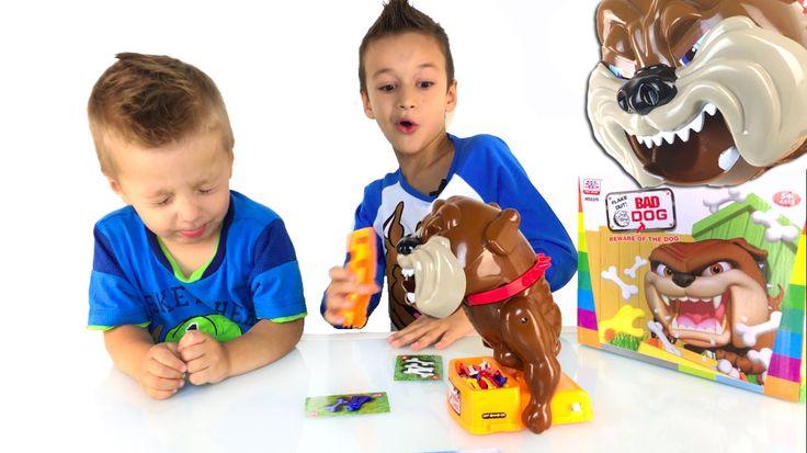 Челлендж BAD DOG Плохая собака Плохой Пёс Вызов принят Family Fun Game Bad Dog - YouTube