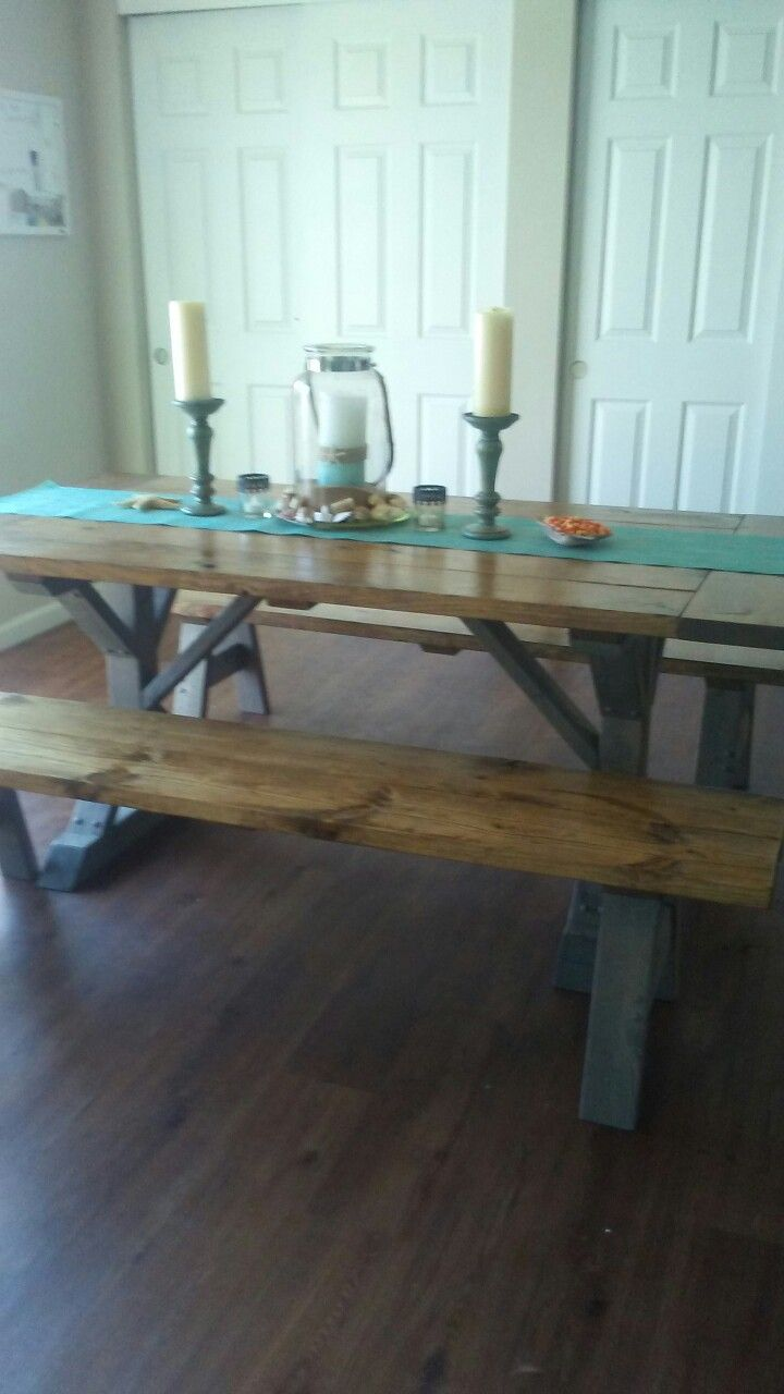 Table built by Knottybotcreations.... I love my table