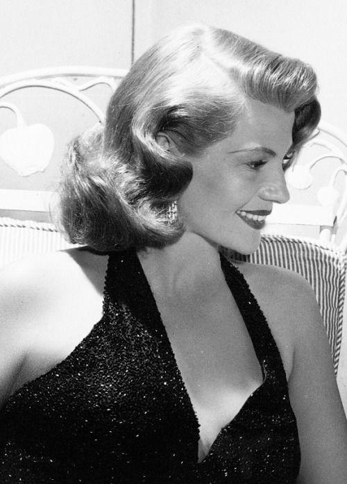 "Rita Hayworth on the set of Affair in Trinidad (1952) """