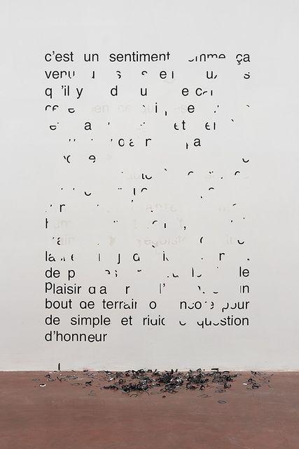 Latifa Echakhch, 'Vendredi 11 août 1989 – C'est un sentiment comme ça ,' 2014, Dvir Gallery