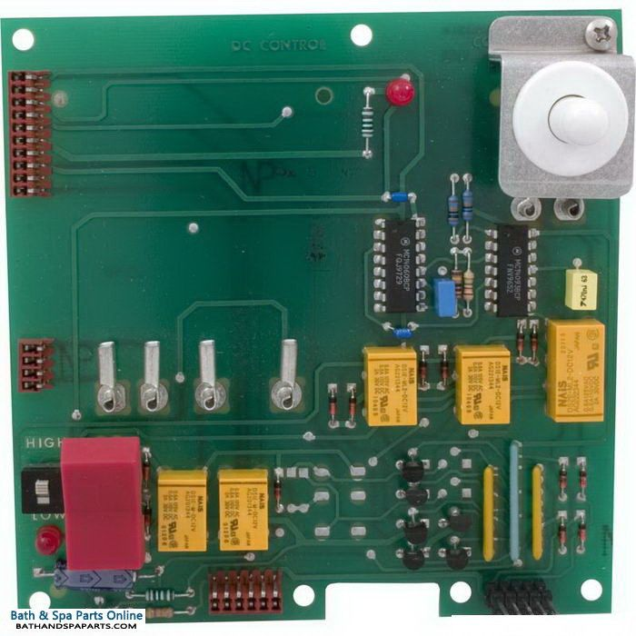 Hydro Spa DC 4-Function PCB Circuit Board [With Timer] (203011T)