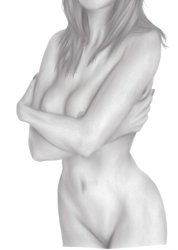 Drawing a naked lady-7415