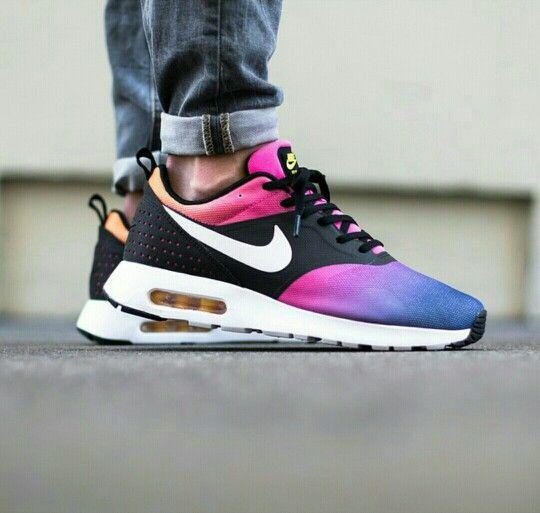 54a9077054 Nike Air max Tavas SD ,white, blue pink pow true yellow | I Fancy .. | Sneakers  nike, Nike shoes cheap, Nike