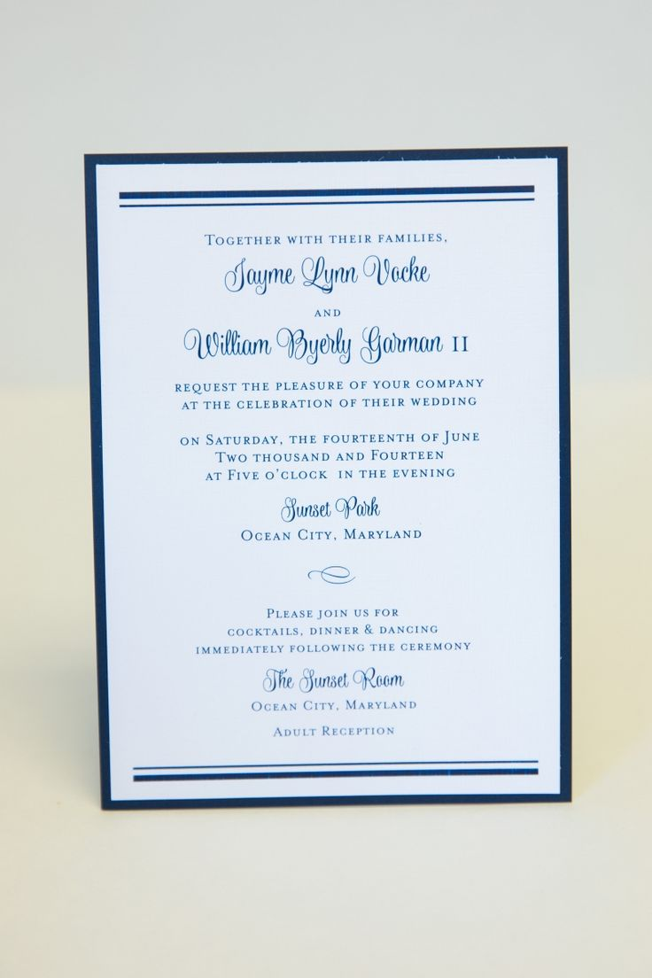 7 best Baltimore Wedding Invitation images on Pinterest | Baltimore ...