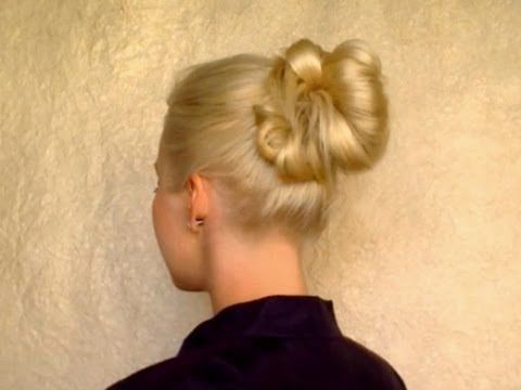 5 minute updo for everyday Top knot messy bun school hairstyles for long straight hair tutorial - Verdict: I really love this.  I never thought of simply throwing my hair up and pinning it down in random pieces.  So easy, and so quick!