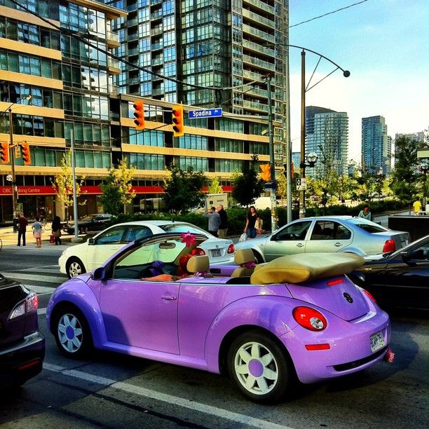 Purple VW Bug