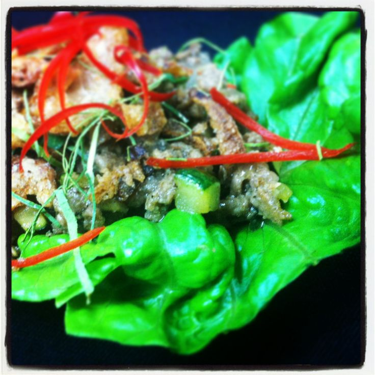 Camel San Choy Bow... Delicious, fresh, spicy, local, inspirational!  Check out www.aspcc.com.au for the recipe.