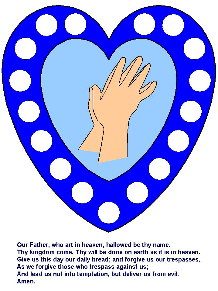 45 best lord 39 s prayer images on pinterest for Peace crafts for sunday school