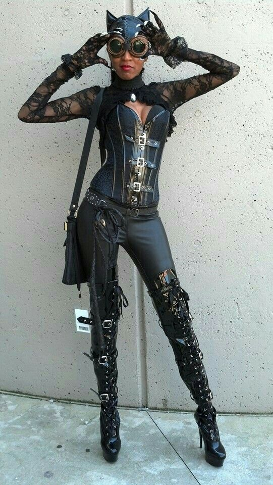 Cat women steampunked