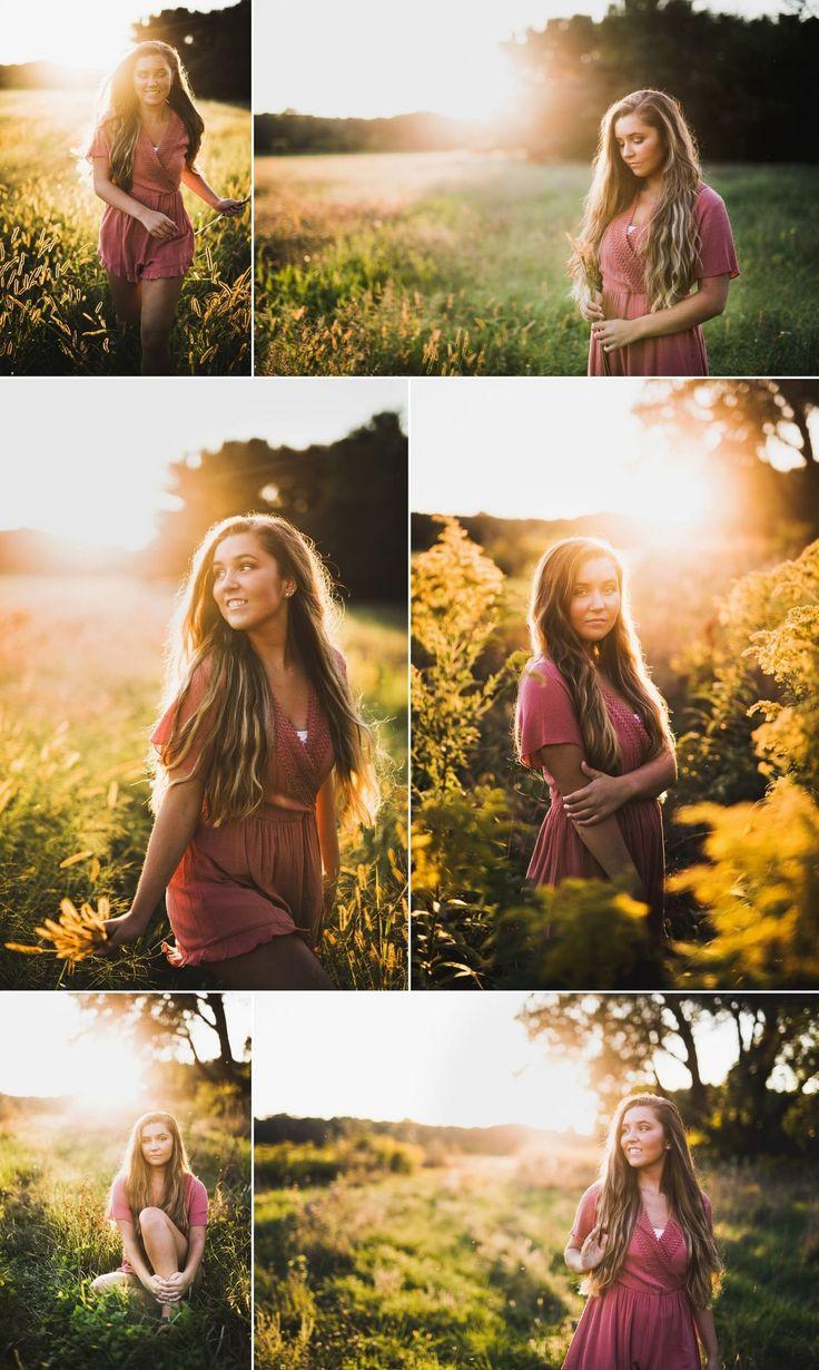 Unique Senior Girl Poses Photography Ideas