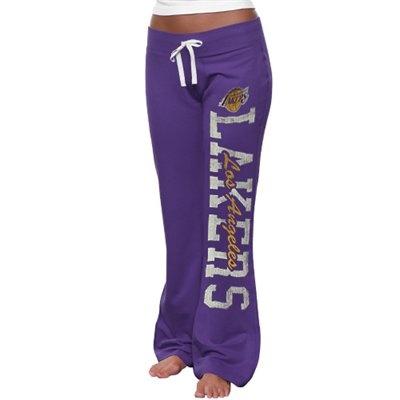 '47 Brand Los Angeles Lakers Womens Pep Rally Fleece Pants - Purple LOVE THESE