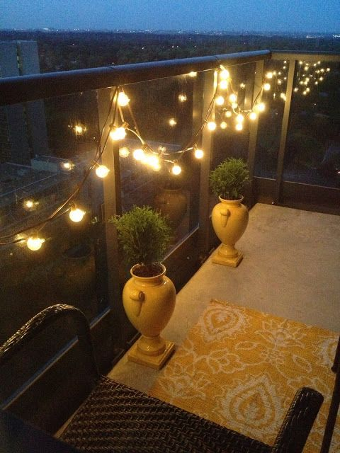 17 best ideas about balcony lighting on pinterest for Balcony lights