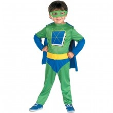 Kids can dress up and turn into Super Why with this Halloween costume available in the PBS KIDS Shop.