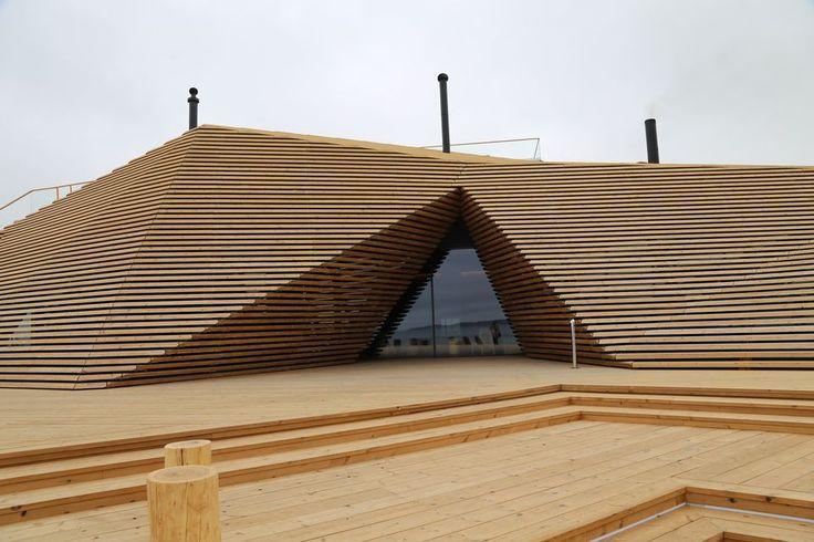 Löyly Helsinki // New eco-friendly public sauna // Avanto Architects. Photo: Lauri Pönni / Yle
