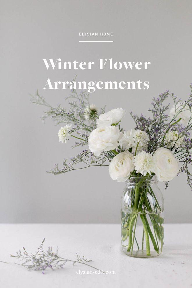 Vce ne 20 nejlepch npad na tma Winter flower arrangements