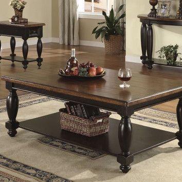 Riverside Furniture Delcastle Coffee Table Set