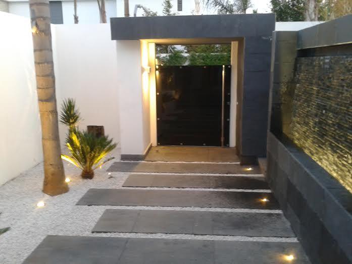 Villa 51, Maroc. Conception lumière et réalisation CAP ECLAIRAGE. Produits Luce&Light.