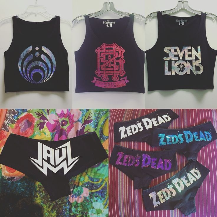 GRiZ Bassnectar Zeds Dead Seven Lions Jauz Custom holographic clothing from SlapQueen.com