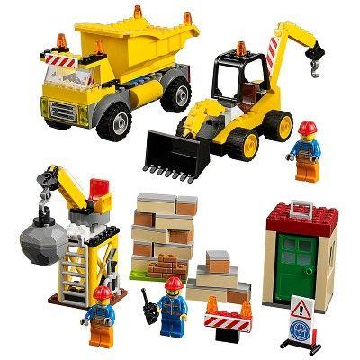 LEGO® Juniors Demolition Site 10734 : Target