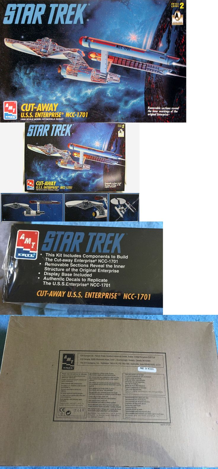 uss enterprise how to build resin kit