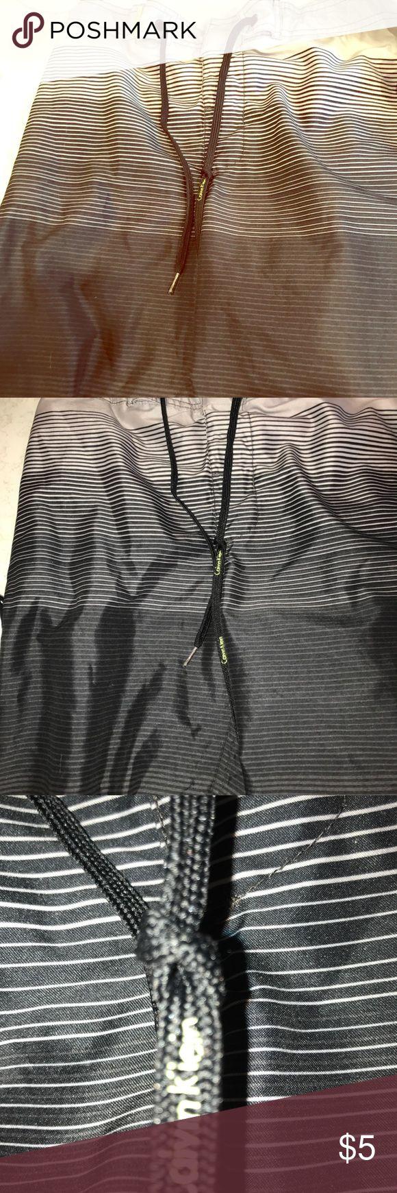 Calvin Klein swim shirt size M Amazing swim shorts very high quality regularly $60 Calvin Klein Shorts Athletic