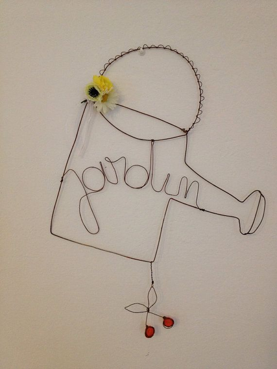 Handmade wireart di ShabbyBe su Etsy #wireart #handmade