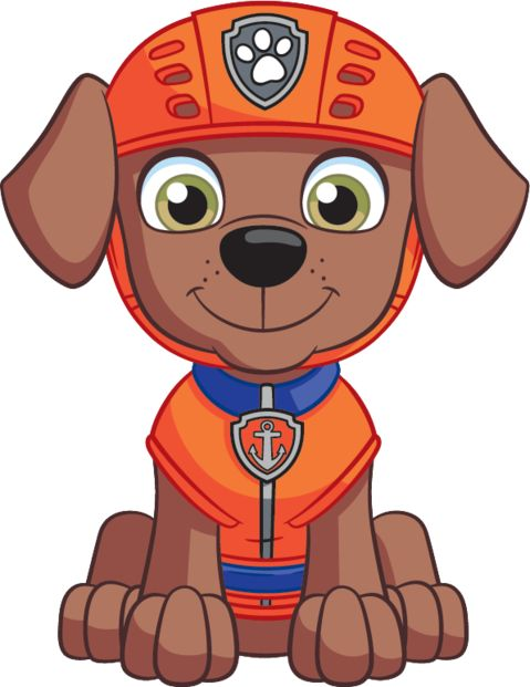 File:Nickelodeon Nick Jr. PAW Patrol Zuma From Front 2D.png