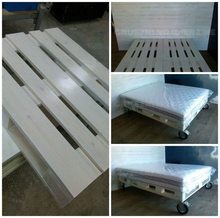 Just Like In Heaven With My Pallet Bed. PalettenbarPaletten Ideen PalettenholzPaletten ...