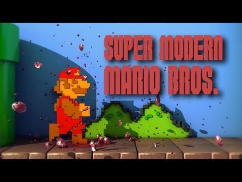 Super Modern Mario Bros. (E3 2012 Gameplay)