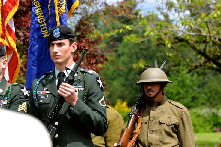 2011 Memorial Day Ceremony, Lakewood, WA by Liz Jackson