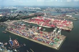 Roterdam harbor