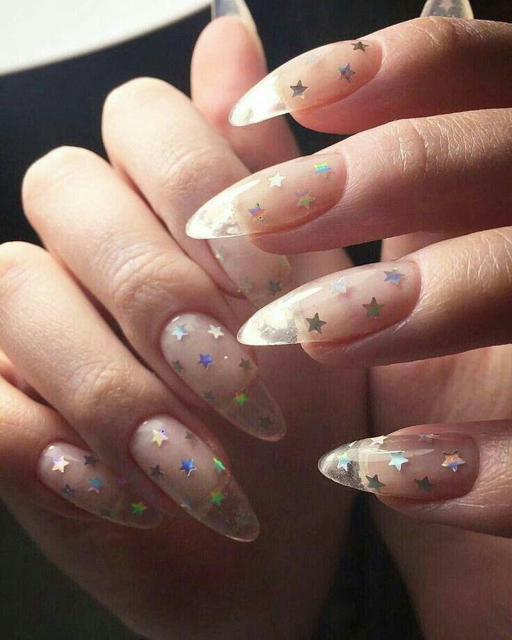 Aranzadrive Manicura De Uñas Uñas Transparentes Y Uñas