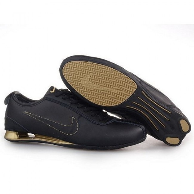 Wonderful Nike Shox R3 Black/Gold Men Shoes 1011 For $48.80 Go To: http