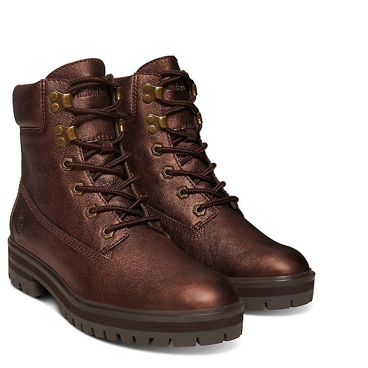 archivo Barry Alegre  London Square 6 Inch Boot for Women in Copper | Timberland | Boots, Womens  boots, Shoe boots