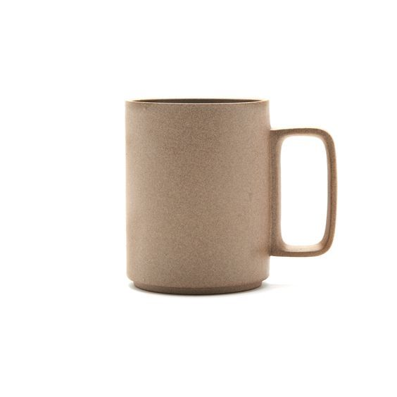 Hasami Porcelain  Natural Tall Unglazed Mug: Tall unglazed mug by Hasami Porcelain. Available in black and natural colour ways, Hasami porcelain is defined by ultra clean lines, smooth texture and an organic feel.  Fusing tradition and modernity, each piece from the Hasami collection has been designed with innovative function and meticulous precision, meaning they can be stacked, for ease of storage and to enhance the beauty and harmony of the design.