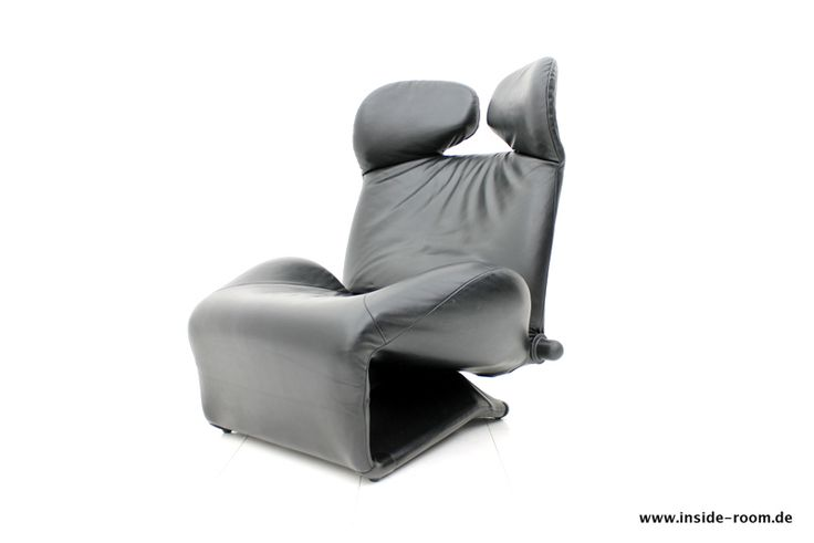 Toshiyuki Kita, Wink Lounge Chair, Leather, Cassina | Inside Room