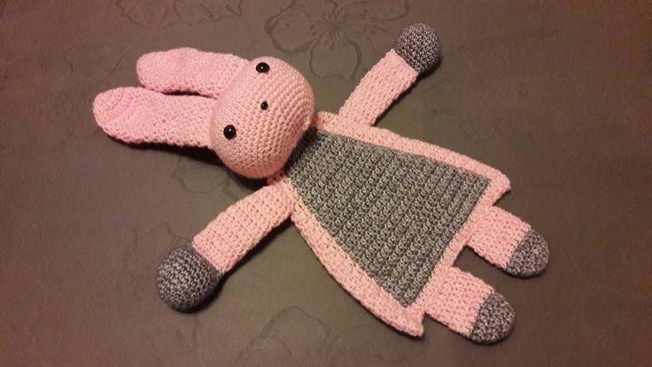 lappenpop konijn (patroon: Gehaakte lappenpoppen - Sascha Blase van Wagtendonk)