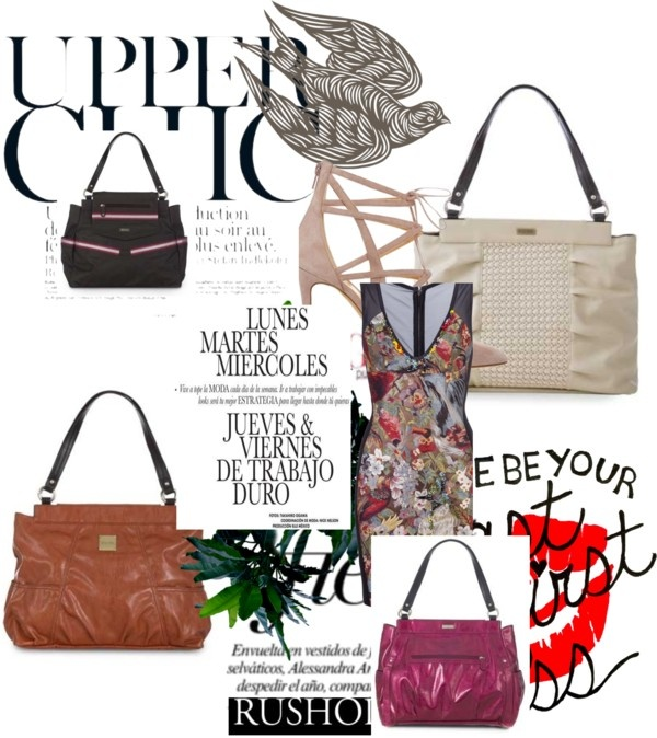 """""""Summer 2012 Tote Miche Bag Shell Collection"""" by mcshanes on Polyvore"""