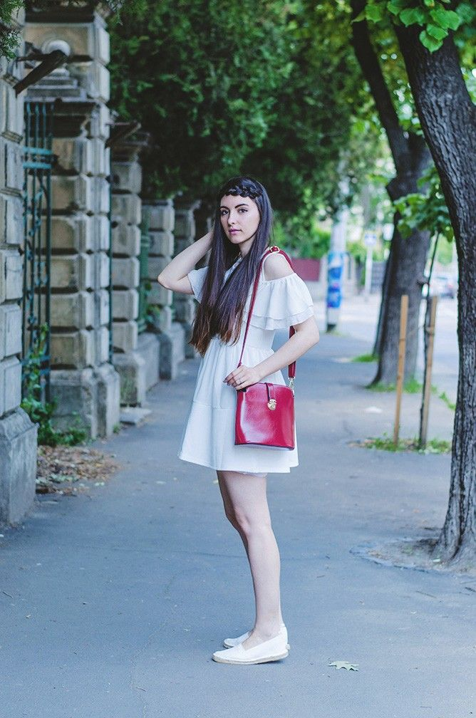 Summer Haze. Oasap Dress Oasap Bag C&A Espadrilles