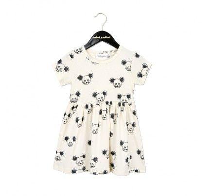 Mini Rodini's Black Mouse Dress, available from Baby Dino, www.babydino.com.au
