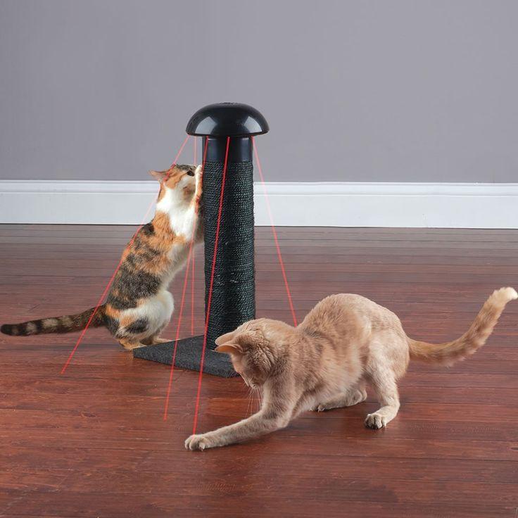 Cat Laser Scratch Post #Cat, #Device, #Fun, #Scratch