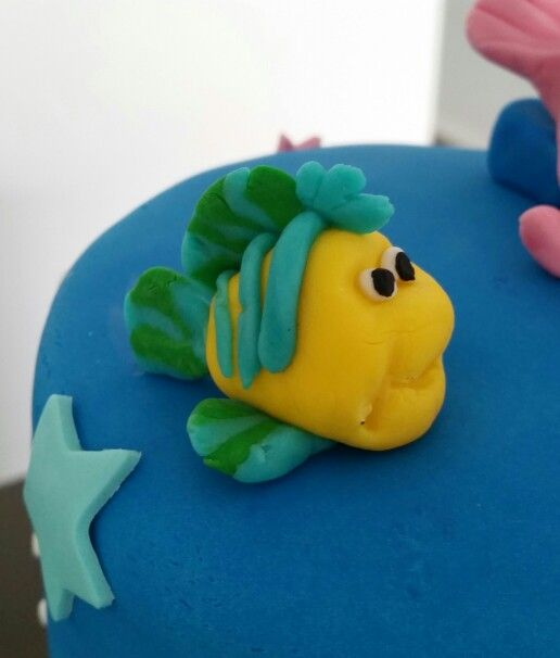 Fondant topper - Nemo
